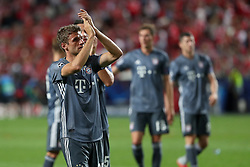 September 19, 2018 - Lisbon, Portugal - Bayern Munich's team players celebrates the victory (0-2) after the UEFA Champions League Group E football match SL Benfica vs Bayern Munich at the Luz stadium in Lisbon, Portugal on September 19, 2018. (Credit Image: © Pedro Fiuza/ZUMA Wire)