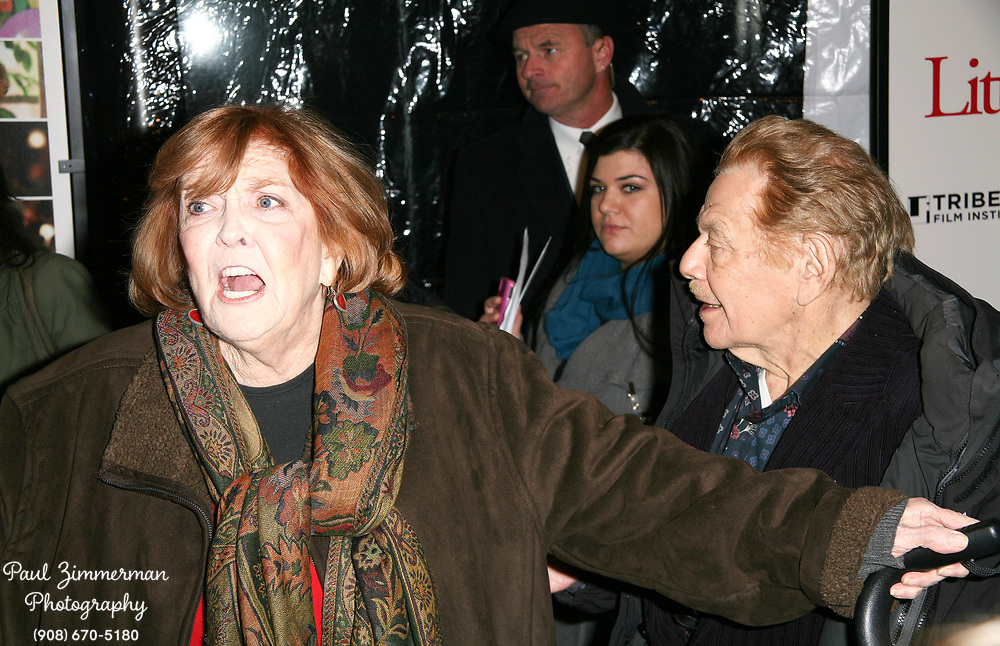15 December 2010 - New York, NY - Anne Meara and Jerry Stiller.  The world premiere of 'Little Fockers' at Ziegfeld Theatre on December 15, 2010 in New York City. Photo Credit: Paul Zimmerman/AdMedia