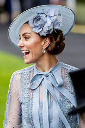 Duchess of Cambidge attending the Royal Ascot, during day one of the at Ascot Racecourse in Ascot, UK, on Tuesday June 18, 2019. Photo by Robin Utrecht/ABACAPRESS.COM