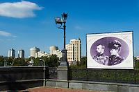 Russie, Ekaterinburg ou Yekaterinburg, eglise du Sang, memorial de la famille Romanov, lieu d'execution de la famille imperiale // Russia, Ekaterinburg or Yekaterinburg, Church of the Blood, The Romanov Memorial - site of the murder of the Imperial family