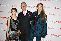 Anna Kendrick,Paul Feig and Blake Lively attend the premiere for the film A Simple Favor (L'Ombre d'Emilie) held at UGC Normandie on September 18, 2018 in Paris, France. Photo Laurent Zabulon/ABACAPRESS.COM