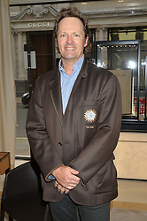Polo patron NICK CLARKE at the draw for the Jaeger-LeCoultre Gold Cup held at Jaeger-LeCoultre, 13 Old Bond Street, London on 8th June 2015.