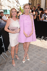 Kathy Hilton and Nicky Hilton arriving at the Valentino show during Paris Fashion Week Haute Couture Collection Fall/Winter 2017-2018 in Paris, France on July 5, 2017. Photo by Julien Reynaud/APS-Medias/ABACAPRESS.COM