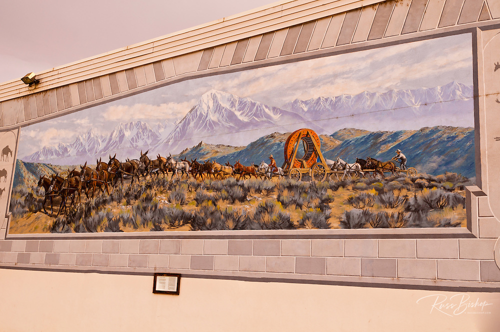 Mural, Lone Pine, California USA