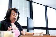 Belo Horizonte_MG, Brasil.<br /> <br /> Dorothea Werneck, Secretaria de Desenvolvimento Economico do Governo de Minas Gerais. A entrevista e concedida em sua sala no predio Minas da Cidade Administrativa Tancredo Neves em Belo Horizonte, Minas Gerais.<br /> <br /> Dorothea Werneck, Secretary of Economic Development in the Government of Minas Gerais. The interview in her office in the building Minas Tancredo Neves Administrative City in Belo Horizonte, Minas Gerais.<br /> <br /> Foto: NIDIN SANCHES / NITRO