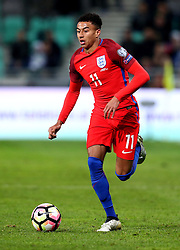 Jesse Lingard of England runs with the ball - Mandatory by-line: Robbie Stephenson/JMP - 11/10/2016 - FOOTBALL - RSC Stozice - Ljubljana, England - Slovenia v England - World Cup European Qualifier