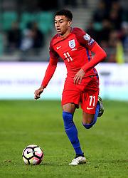 Jesse Lingard of England runs with the ball - Mandatory by-line: Robbie Stephenson/JMP - 11/10/2016 - FOOTBALL - RSC Stozice - Ljubljana, England - Slovenia v England - World Cup European Qualifier