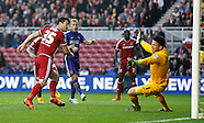 Middlesbrough v Charlton Athletic 311015