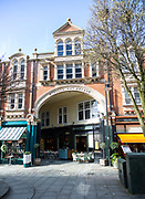 Wyndham Arcade 1887 Victorian shopping covered passageway in city centre of Cardiff, South Wales, UK