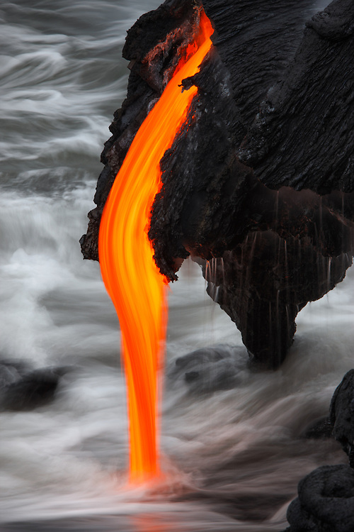 Molten lava is just so incredible, the way it moves, the shapes it forms, and textures it creates...incomprehensibly so dynamic, and infinitely so beautiful.