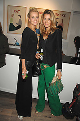 Left to right, KALITA AL-SWAIDI and ISABELLE BSCHER at a party to celebrate the opening of a new art gallery, 20 Hoxton Square, Hoxton Square, London on 27th April 2007.<br /><br />NON EXCLUSIVE - WORLD RIGHTS