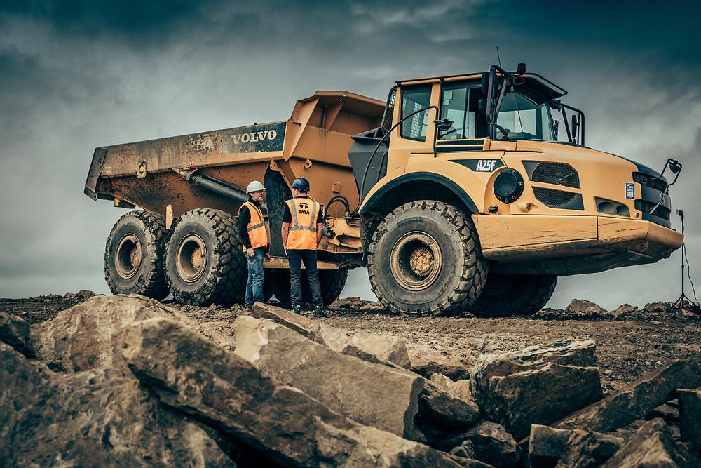 14/08/18 Birks Royd Quarry , Thornton , Bradford. RE : TATA Steel product EVAR Steel