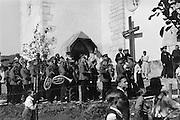 Display by Fire Birgade and Brass Band, Molln, Austria, 1934