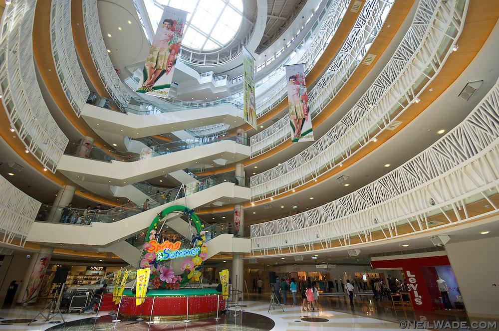 Enjoy a shopper's meca at The Dream Mall.