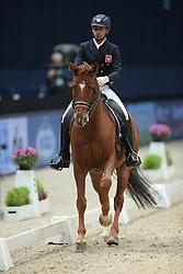 Kozanowski Przemyslaw, (POL), Belcanto 34<br /> Grand Prix Dressage München 2015<br /> © Hippo Foto - Stefan Lafrentz