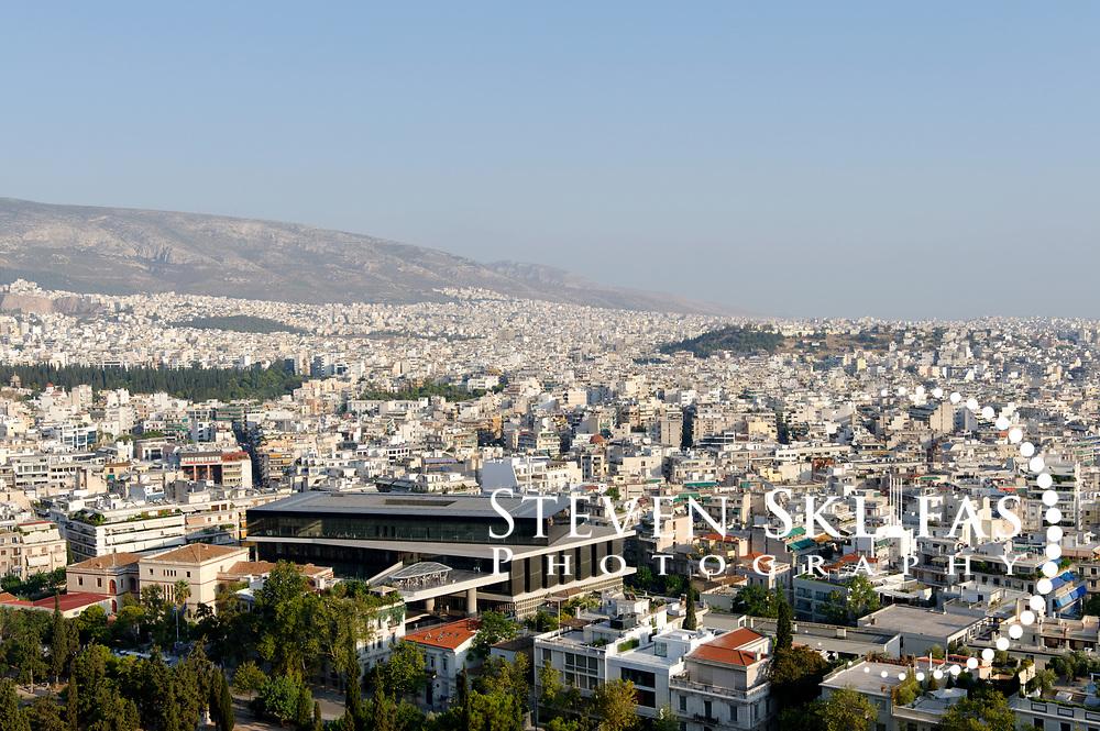 New Acropolis museum. Athens. Greece.