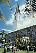 Moku'aikaua Church, 1819, Kailua-Kona, Island of Hawaii