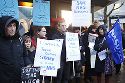 Save Our NHS  Portmsouth Protest