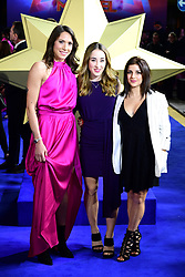 Regina Baresi (left) Carlotta Ferlito and Elisa Meneghini attending the Captain Marvel European Premiere held at the Curzon Mayfair, London. Picture date: Wednesday February 27, 2019. Photo credit should read: Ian West/PA Wire