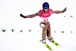 February 8, 2018 - Pyeongchang, SOUTH KOREA - 180208 Kamil Stoch of Poland competes during the Men's Normal Hill Individual Qualification ahead of the 2018 Winter Olympics on February 8, 2018 in Pyeongchang..Photo: Jon Olav Nesvold / BILDBYRN / kod JE / 160146 (Credit Image: © Jon Olav Nesvold/Bildbyran via ZUMA Press)