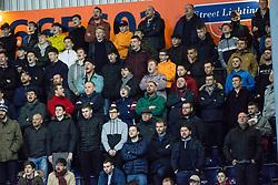 South stand. Falkirk 0 v 1 Morton, Scottish Championship game played 18/3/2017 at The Falkirk Stadium.