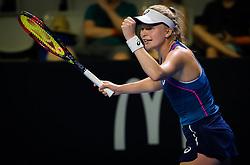 December 31, 2018 - Brisbane, AUSTRALIA - Harriet Dart of Great Britain in action during her first-round match at the 2019 Brisbane International WTA Premier tennis tournament (Credit Image: © AFP7 via ZUMA Wire)