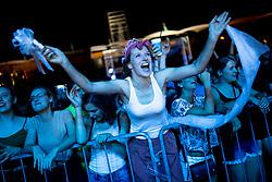 Big Foot Mama at the concert of a charity project - Gibaj, mladina! before ATP Challenger Zavarovalnica Sava Slovenia Open 2018, on August 3, 2018 in Sports centre, Portoroz/Portorose, Slovenia. Photo by Urban Urbanc / Sportida