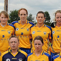 14 August 2010; The Clare squad. TG4 Ladies Football All-Ireland Senior Championship Quarter-Final, Clare v Dublin, St Rynagh's, Banagher, Co. Offaly. Picture credit: Brendan Moran / SPORTSFILE *** NO REPRODUCTION FEE ***