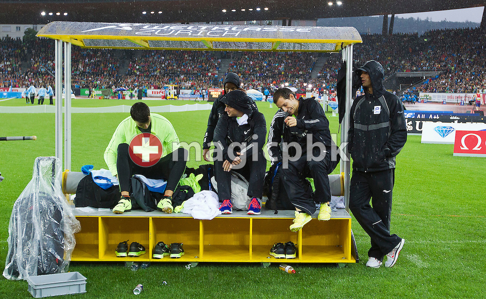 Action during the Iaaf Diamond League meeting at the Letzigrund Stadium in Zurich, Switzerland, Thursday, Aug. 30, 2012. (Photo by Patrick B. Kraemer / MAGICPBK)