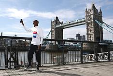 2018 Virgin Money London Marathon - Sir Mo Farah Photocall - 17 April 2018