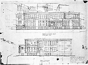 Drawing, sheet No. 15 - Susan B. Anthony School, First Street & Central Park, Rochester, Monroe County, NY.