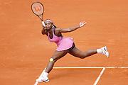 Roland Garros. Paris, France. May 31st 2007..2nd Round..Serena WILLIAMS against Milagros SEQUERA.
