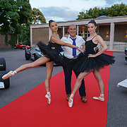 Hurlingham Club ,London, England, UK. 10th July, 2017. Black Orchid Ballerinas performs at The Grand Prix Ball attracted a host of star-studded celebrity guests last night at Hurlingham Club , including Formula 1 drivers as well as iconic Formula 1 cars. Guests mingled with the elite whist being enterained with live performances by award winning UK artists and DJs ahead of the British Grand Prix at Silverstone.