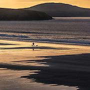 Last light, Whitesands Bay, Pembrokeshire.