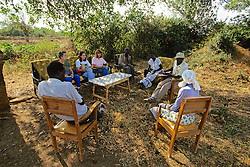 Jackie, Michelle & Kathy Meeting With Cela Ndari, Herbalist