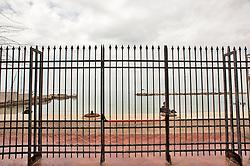 Taranto, maggio 2013.Nautilus, ristorante sul mare nella citta' di Taranto