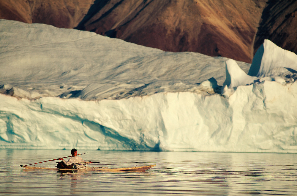 Inuit Narwhal hunter Gedion Kristiansen Qaanaaq, North West Greenland