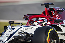 February 18, 2019 - Barcelona, Spain - 07 RAIKKONEN Kimi (fin), Alfa Romeo Racing C38, action during Formula 1 winter tests from February 18 to 21, 2019 at Barcelona, Spain - Photo Motorsports: FIA Formula One World Championship 2019, Test in Barcelona, (Credit Image: © Hoch Zwei via ZUMA Wire)