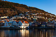 The waterfront in Bergen, Norway
