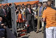 Koninginnedag 2007 in het vestingsstadje Woudrichem / Queensday 2007 in the small village Woudrichem.<br /> <br /> Op de foto / On the Photo; Prins Constantijn