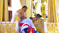 "04-05-2019 Thailand His Majesty the King attends the Royal Purification or the ""Song Muratha Bhisek"" Ceremony at Chakrabat Biman Royal Residence. 04 May 2019 Pictured: 04-05-2019 Thailand His Majesty the King attends the Royal Purification or the ""Song Muratha Bhisek"" Ceremony at Chakrabat Biman Royal Residence. Photo credit: Committee coronation/Pool / MEGA TheMegaAgency.com +1 888 505 6342"