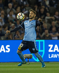 October 7, 2017 - Melbourne, Victoria, Australia - Milos Ninkovic (#10) of Sydney FC in action during the round 1 match between Melbourne Victory and Sydney FC at Etihad Stadium in Melbourne, Australia during the 2017/2018 Australian A-League season. (Credit Image: © Theo Karanikos via ZUMA Wire)