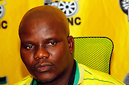 DURBAN - 12 September 2016 - The African National Congress's KwaZulu-Natal provincial spokesman  Mduminiseni Ntuli at a press conference, where the party confirmed that it would prefer a rerun of the polls in certain municipalities in the province where there were hung councils following recent local goveernment elections. Picture: Allied Picture Press/APP