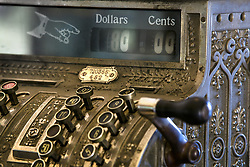 July 21, 2019 - Antique Cash Register (Credit Image: © Richard Wear/Design Pics via ZUMA Wire)