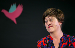 © Licensed to London News Pictures. 30/05/2015. Hay-On-Wye, UK. Singer Tracey Thorn talks about her new book at the Hay Festival. Photo credit : Tracey Paddison/LNP
