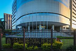 O Tribunal Regional Federal da 4ª Região (TRF-4), com sede na cidade de Porto Alegre, é o órgão de segundo Grau da Justiça Federal dos estados brasileiros do Paraná, Santa Catarina e Rio Grande do Sul. O tribunal é constituído por 27 desembargadores, nomeados pelo Presidente da República após aprovação do Senado Federal. FOTO: Jefferson Bernardes/ Agência Preview