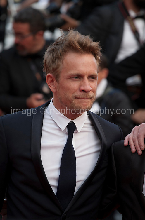 Actor Actor Jeremie Renier at the gala screening for the film The Unknown Girl (La Fille Inconnue) at the 69th Cannes Film Festival, Wednesday 18th May 2016, Cannes, France. Photography: Doreen Kennedy