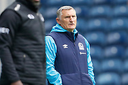 Tony Mowbray Manager of Blackburn Rovers during the EFL Cup match between Blackburn Rovers and Doncaster Rovers at Ewood Park, Blackburn, England on 29 August 2020.