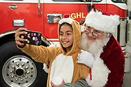 Cornwall, New York - People enjoy the Cornwall Holiday Festival sponsored by the Greater Cornwall Chamber of Commerce on Dec. 2, 2018.