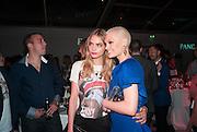 CARA DELEVIGNE; JESSIE J, 2013 Glamour Woimen of the Year awards. Berkeley Sq. London. 4 June 2013.